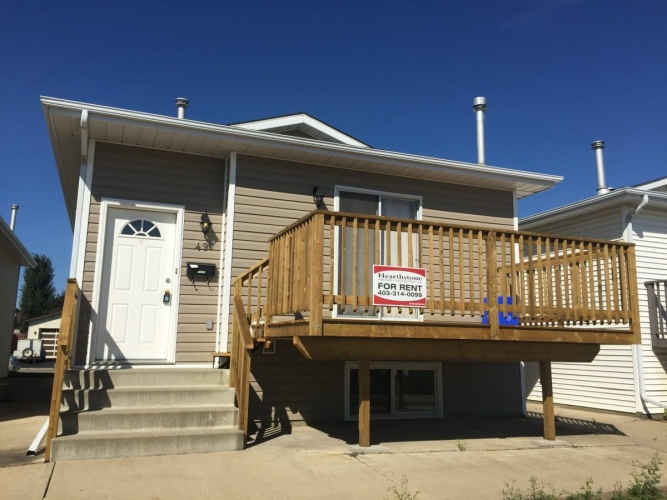 Duplex For Rent 49B Hangingstone Drive, Lacombe, 3 Bedrooms, 1 Bathroom