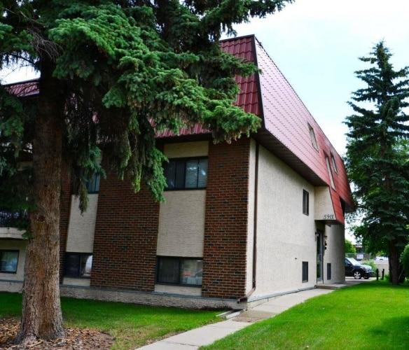 Apartment For Rent 5 - 5911 51 Avenue, Red Deer, 2 Bedrooms, 1 Bathroom